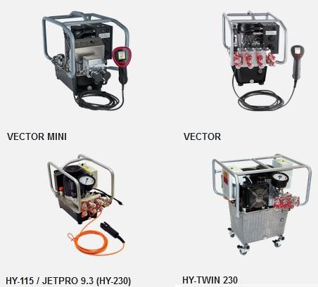 Маслостанции электрические Hytorc