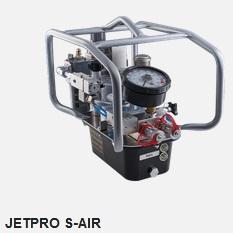 Маслостанція з пневмоприводом Hytorc JetPro-S-AIR