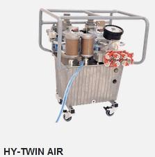 Маслостанція з пневмоприводом Hytorc HY-TWIN-AIR
